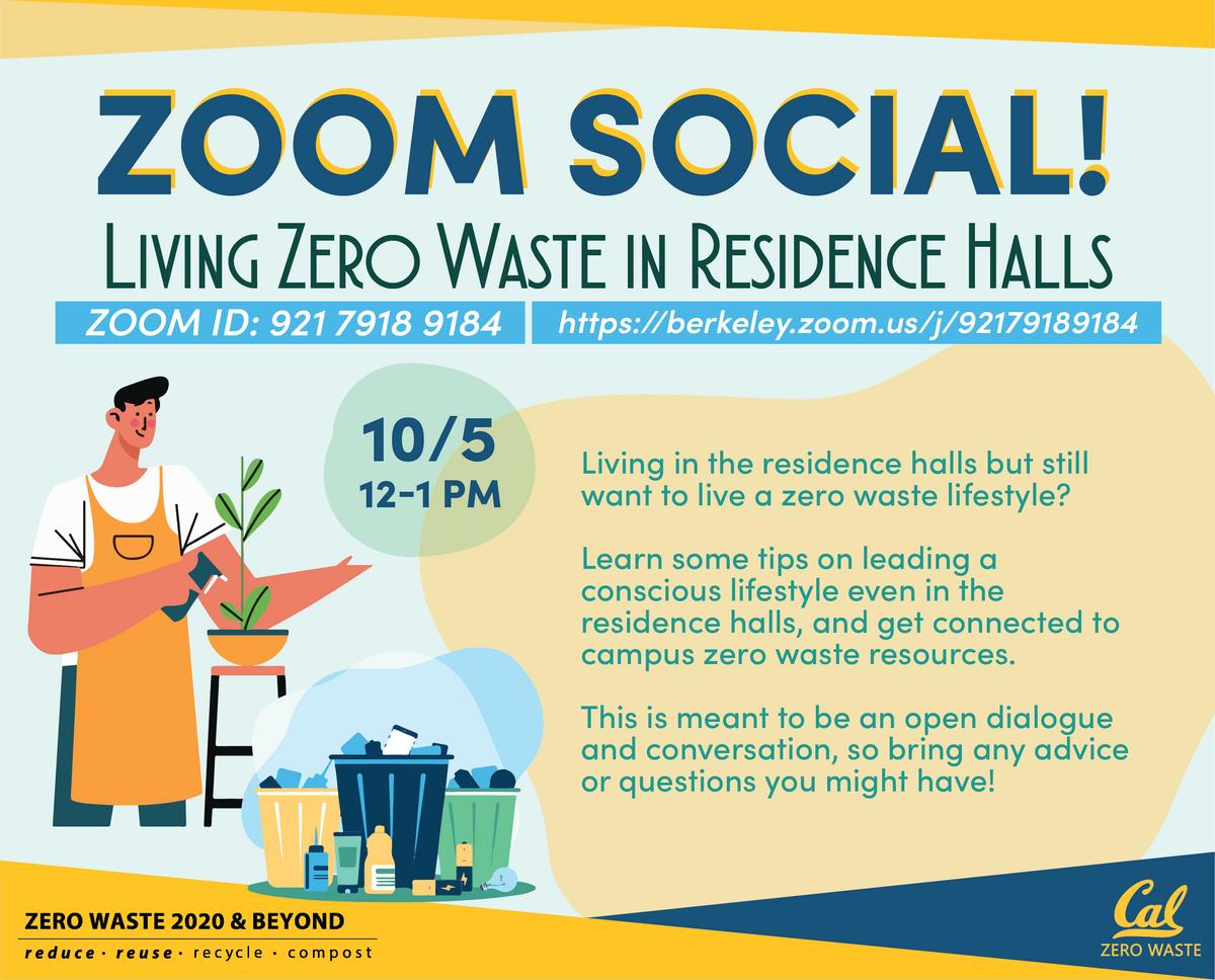 Living Zero Waste in Residence Halls