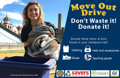 Move Out Promotion - Donate!