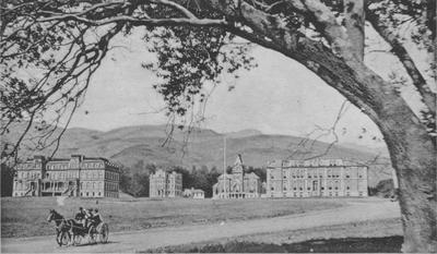 UC Berkeley campus, hills beyond, 1901